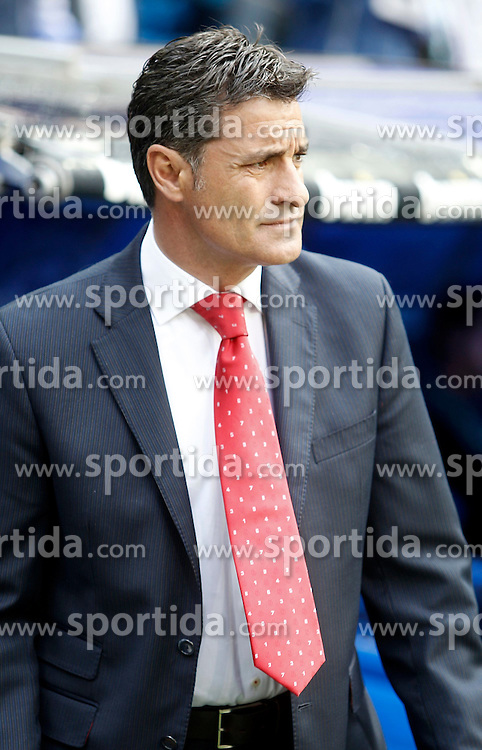 29.04.2012, Santiago Bernabeu Stadion, Madrid, ESP, Primera Division, Real Madrid vs FC Sevilla, 36. Spieltag, im Bild Sevilla's coach Michel the football match of spanish 'primera divison' league, 36th round, between Real Madrid and FC Sevilla at Santiago Bernabeu stadium, Madrid, Spain on 2012/04/29. EXPA Pictures © 2012, PhotoCredit: EXPA/ Alterphotos/ Alvaro Hernandez..***** ATTENTION - OUT OF ESP and SUI *****