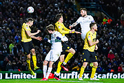 Leeds United defender Liam Cooper (6) during the EFL Sky Bet Championship match between Leeds United and Millwall at Elland Road, Leeds, England on 28 January 2020.