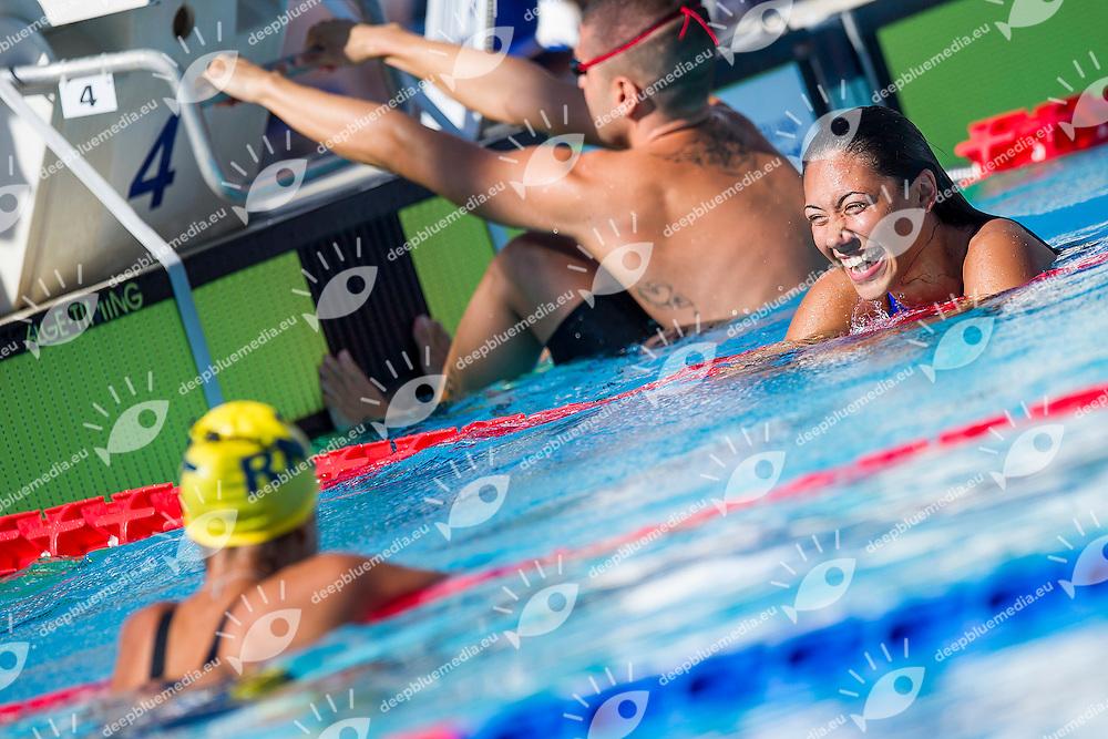 Tania Quaglieri ITA <br /> Seasub Modena<br /> 100 Dorso Donne<br /> Stadio del Nuoto, Roma<br /> Day 07 10-08-2016<br /> Campionati Italiani di Categoria 2016<br /> Photo Andrea Masini/Deepbluemedia/Insidefoto