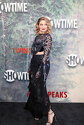 May 19, 2017 - Los Angeles, CA, USA - LOS ANGELES - MAY 19:  Madchen Amick at the ''Twin Peaks'' Premiere Screening at The Theater at Ace Hotel on May 19, 2017 in Los Angeles, CA (Credit Image: © Kay Blake via ZUMA Wire)