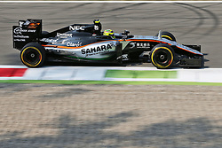 Sergio Perez (MEX) Sahara Force India F1 VJM09.<br />