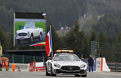 September 1, 2019, Spa-Francorchamps, Belgium: Motorsports: FIA Formula One World Championship 2019, Grand Prix of Belgium, ..F1 Safety Car, Mercedes-AMG GT R  (Credit Image: © Hoch Zwei via ZUMA Wire)