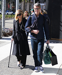 Selma Blair and David Price are seen in Beverly Hills, Los Angeles, CA.