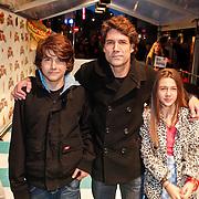 NLD/Amsterdam/20101114 - Premiere kinderfilm Dik Trom, Daniel Boissevain en kinderen