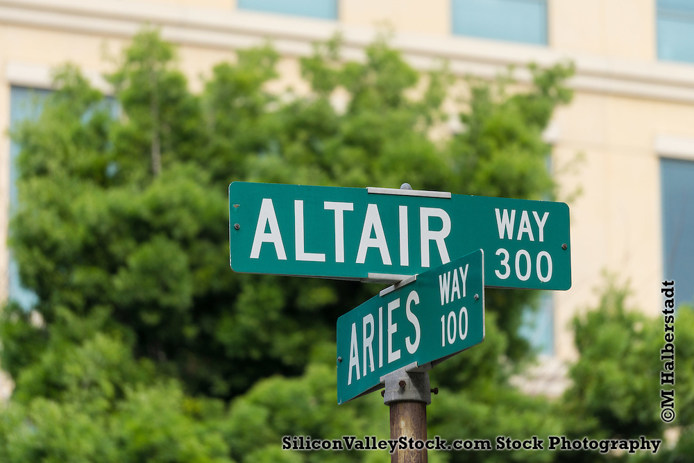 Altair Way Sign