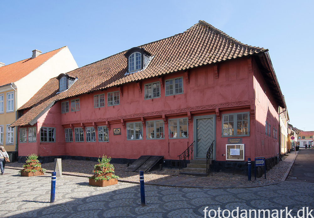 Willemoesgården Museum lies in the centre of the West Fyn town of Assens.