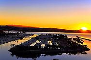 Sunrise Over Dana Point California Harbor