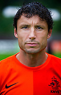 NETHERLANDS, HOENDERLOO : Dutch international football player Mark van Bommel in Hoenderloo on May 31, 2012. AFP PHOTO/ ROBIN UTRECHT