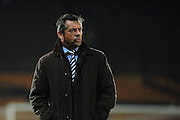 Southend United boss Phil Brown during the Sky Bet League 1 match between Port Vale and Southend United at Vale Park, Burslem, England on 26 February 2016. Photo by Mike Sheridan.