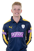 Hampshire right-arm off spinner Brad Taylor in the 2016 Royal London One Day Cup Shirt. Hampshire CCC Headshots 2016 at the Ageas Bowl, Southampton, United Kingdom on 7 April 2016. Photo by David Vokes.