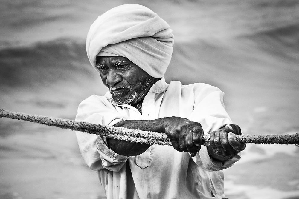 Fishermen from Kerala, India. Photo by Lorenz Berna.
