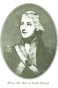 Colonel Graham.  The Kaffirs on the Eastern frontier continuing to be troublesome and dangerous cattle thieves, the Governor, Sir John Cradock raised a force of Burghers, European soldiers and Hottentors, under the command of Colonel Graham (after whom Grahams town was named in 1812). The kaffirs were driven across the Fish River.