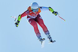 17.02.2018, Jeongseon Alpine Centre, Jeongseon, KOR, PyeongChang 2018, Ski Alpin, Damen, Super G, im Bild Corinne Suter (SUI) // Corinne Suter of Switzerland in action during ladie's SuperG of the Pyeongchang 2018 Winter Olympic Games at the Jeongseon Alpine Centre in Jeongseon, South Korea on 2018/02/17. EXPA Pictures © 2018, PhotoCredit: EXPA/ Johann Groder