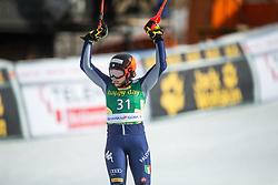 Federica Brignone (ITA) during second run at the Ladies' Slalom at 56th Golden Fox event at Audi FIS Ski World Cup 2019/20, on February 16, 2020 in Podkoren, Kranjska Gora, Slovenia. Photo by Matic Ritonja / Sportida