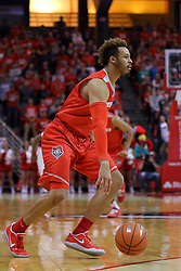 03 December 2016:  Xavier Adams during an NCAA  mens basketball game between the New Mexico Lobos the Illinois State Redbirds in a non-conference game at Redbird Arena, Normal IL