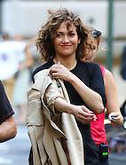 New York Jennifer Lopez on Shades of Blue Set 29 Aug 2016