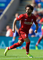 LEICESTER, ENGLAND - Saturday, September 1, 2018: Liverpool's Mohamed Salah during the FA Premier League match between Leicester City and Liverpool at the King Power Stadium. (Pic by David Rawcliffe/Propaganda)