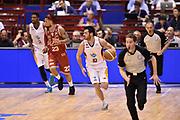 DESCRIZIONE : Milano Lega A 2014-15 <br /> EA7 Olimpia Milano - Acea Virtus Roma <br /> GIOCATORE : Lorenzo D'Ercole  <br /> CATEGORIA : controcampo contropiede palleggio <br /> SQUADRA : Acea Virtus Roma <br /> EVENTO : Campionato Lega A 2014-2015 <br /> GARA : EA7 Olimpia Milano - Acea Virtus Roma<br /> DATA : 12/04/2015<br /> SPORT : Pallacanestro <br /> AUTORE : Agenzia Ciamillo-Castoria/GiulioCiamillo<br /> Galleria : Lega Basket A 2014-2015  <br /> Fotonotizia : Milano Lega A 2014-15 EA7 Olimpia Milano - Acea Virtus Roma
