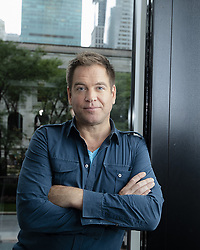 September 21, 2018 - New York, New York, U.S. - MICHAEL WEATHERLY promotes the TV series 'Bull and 10' in New York. (Credit Image: © Armando Gallo/ZUMA Studio)