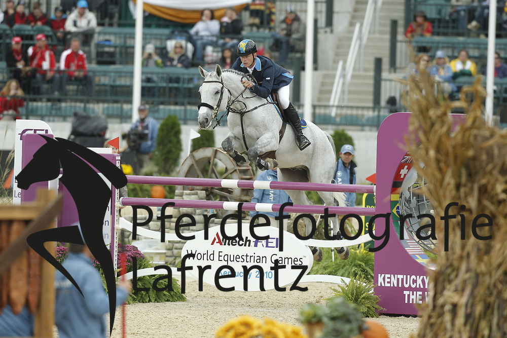 FREDERICSON Peder, H&M Artic Aurora Borealis<br /> Kentucky - Alltech FEI WEG 2010<br /> /Stefan Lafrentz