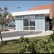 Ingresso del pronto soccorso dell' Ospedale S.Maria di Misercordia Albenga (SV) .22 agosto 2011