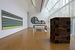 Modern art installations at Museum Ludwig in Cologne Germany