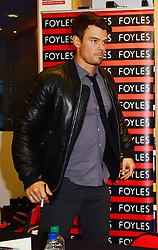 Josh Duhamel,  during Safe Haven book signing, Foyles, Westfield, White City, London, UK, February 21, 2013.  Photo by Nils Jorgensen / i-Images.