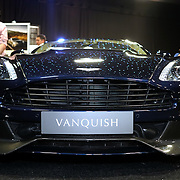 London,England, UK : 5th May 2016 : VanquishLondon Motor Show at Battersea Evolution over four days, with an exclusive preview in London. Photo by See Li