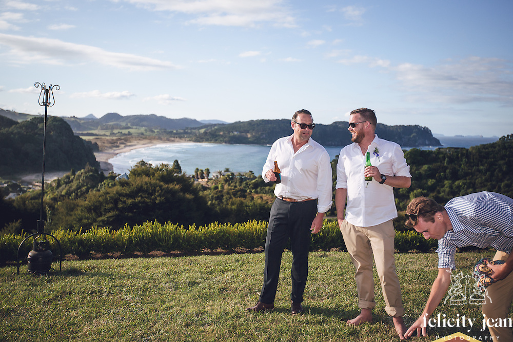toby & marianna's wedding at hotwater beach venue stone terrace ceremony at hahei beach coromandel wedding felicity jean photography