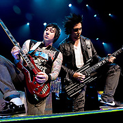 Avenged Sevenfold performs at The Nokia Theater in Los Angeles, California USA on April 16, 2009.