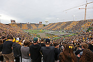 NCAA Football - Michigan State at Iowa - October 5, 2013