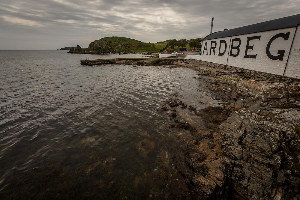 Ardbeg Distillery in Port Ellen, Isle of Islay, Scotland, July 15, 2015. Gary He/DRAMBOX MEDIA LIBRARY