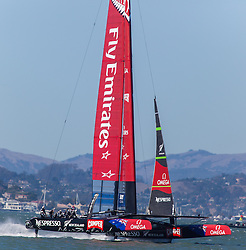 15.09.2013, Pier29, San Francisco, USA, Americas Cup Final Races 2013, Race 9 and 10, im Bild Emirates Team New Zealand // during the finals of the Americas Cup 2013, race 9 and 10 at San Francisco, United States of America on 2013/09/15. EXPA Pictures © 2013, EXPA Pictures © 2013, PhotoCredit: EXPA/ Mag. Gert Steinthaler