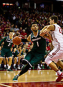 during the first half of the UW-Green Bay Men's Basketball game versus University of Wisconsin at the Kohl Center, Wednesday, December 14, 2016.