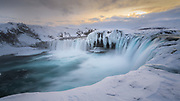 Taken in january at Godafoss near Akureyri.