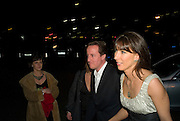 DAVID AND SAMANTHA CAMERON, Conservative Party Black & White Ball Battersea Evolution, London, SW11. Fundraising ball for the Conservative Party. 6 February 2008.  *** Local Caption *** -DO NOT ARCHIVE-© Copyright Photograph by Dafydd Jones. 248 Clapham Rd. London SW9 0PZ. Tel 0207 820 0771. www.dafjones.com.