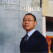 Cuong PHAM PHU- Local politician in French Suburbs, former French Foreign Legion member.