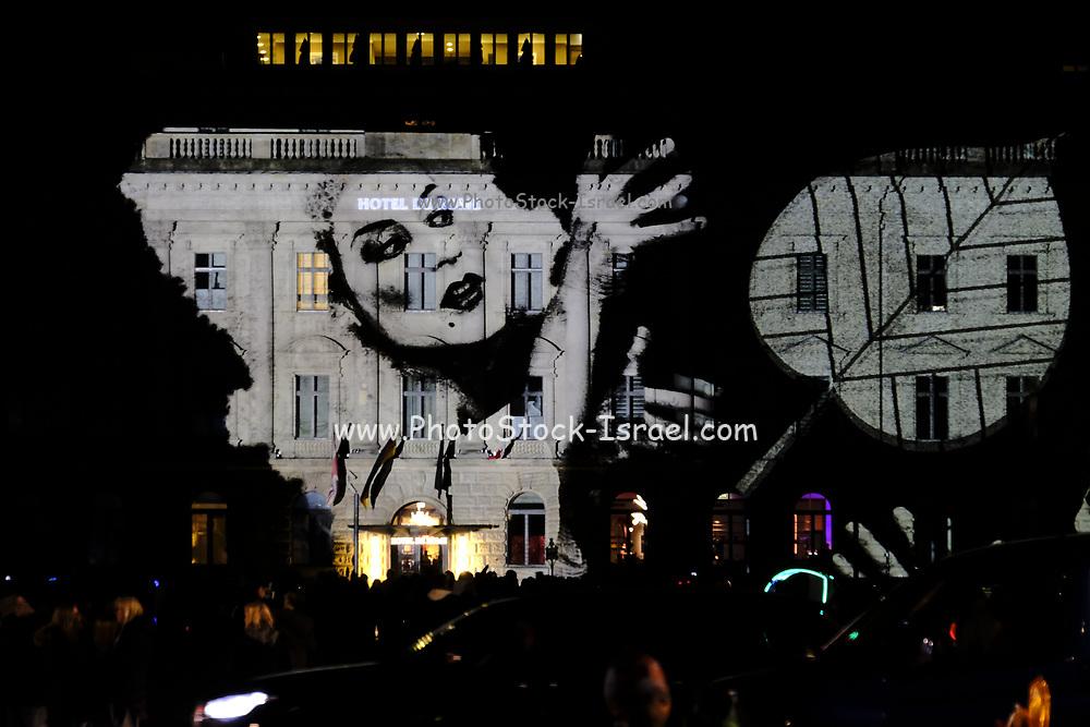 Festival of Lights, hotel de Rome, Bebelplatz, Berlin, Germany