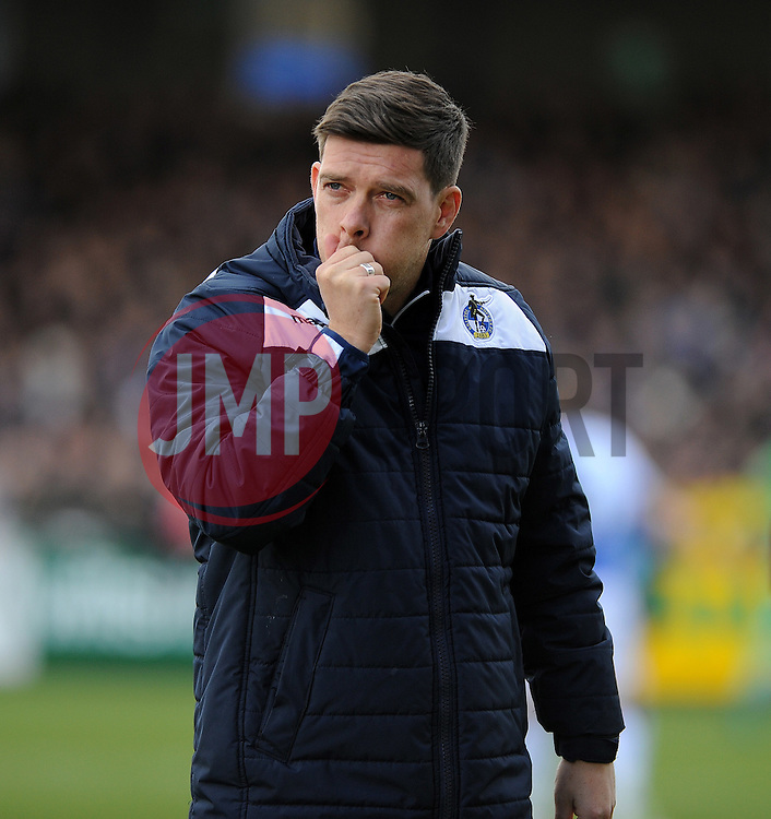 Bristol Rovers manager Darrell Clarke - Mandatory by-line: Neil Brookman/JMP - 28/01/2017 - FOOTBALL - Memorial Stadium - Bristol, England - Bristol Rovers v Swindon Town - Sky Bet League One