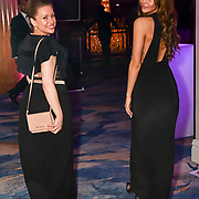 Kay Lovelle and Bethan Wright attend the BritAsiaTV Presents Kuflink Punjabi Film Awards 2019 at Grosvenor House, Park Lane, London,United Kingdom. 30 March 2019