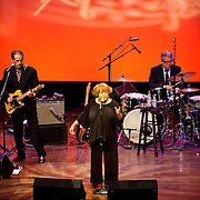 Washington, D.C. - April 23, 2010:  Legendary gospel singer Mavis Staples entertains the crowd at the Terrace Theater in the Kennedy Center. (Photo by Kyle Gustafson)