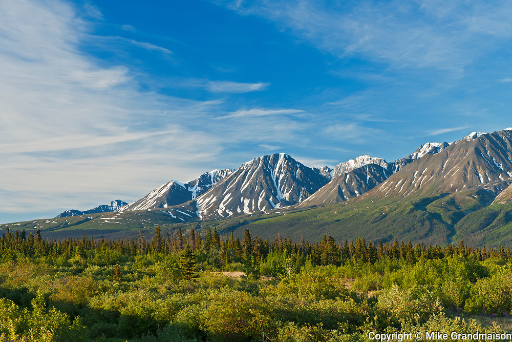 St. Elias Mountains<br /> , near Haines Junction, Yukon, Canada