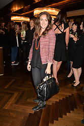 NATASHA CORRETT at a party to celebrate the 15th anniversary of Myla held at the House of Myla, 8-9 Stratton Street, London on 21st October 2014.