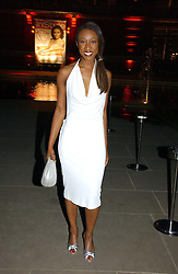 Singer BEVERLEY KNIGHT at the 5th anniversary party for InStyle magazine held at The V&A, Cromwell Road, London SW7 on 19th June 2006.<br />