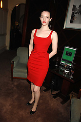 Actress TALULAH RILEY at a party to celebrate the publication of Top Tips For Girls by Kate Reardon held at Claridge's, Brook Street, London on 28th January 2008.<br /><br />NON EXCLUSIVE - WORLD RIGHTS
