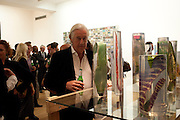 MARTIN SUMMERS- LUIZ ZERBINI  -EVERY JETSON HAS A FLINTSTONE INSIDE <br /> Max Wigram Gallery-BOND STREET,  London. 8 September 2011. <br />  <br />  , -DO NOT ARCHIVE-© Copyright Photograph by Dafydd Jones. 248 Clapham Rd. London SW9 0PZ. Tel 0207 820 0771. www.dafjones.com.