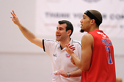 Bristol Flyers head coach Andreas Kapoulas - Mandatory byline: Dougie Allward/JMP - 06/02/2016 - FOOTBALL - SGS Wise Campus - Bristol, England - Bristol Flyers v Newcastle Eagles - British Basketball League
