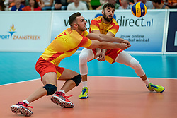 09-06-2019 NED: Golden League Netherlands - Spain, Koog aan de Zaan<br /> Fourth match poule B - The Dutch beat Spain again in five sets in the European Golden League / Jordi Ramon Ferragut #7 of Spain