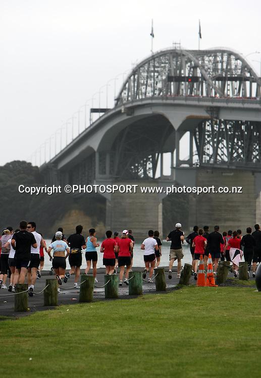 Adidas Auckland Marathon, Sunday 2 November 2008. Photo: Renee McKay/PHOTOSPORT