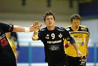 Håndball, 11. desember 2002. Eliteserien, Gildeserien herrer, Kragerø - Stord 25-32. Børge Brown, Stord